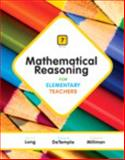 Mathematical Reasoning for Elementary Teachers Plus NEW MyMathLab with Pearson EText -- Access Card Package, Long, Calvin T. and DeTemple, Duane W., 0321923243