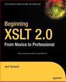 Beginning XSLT 2. 0, Jeni Tennison, 1590593243