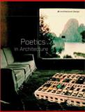 Poetics in Architecture, Van Schaik, Leon, 0470843241