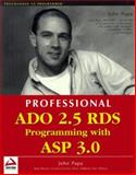 ADO 2.5 RDS Programming with ASP 3.0, Charles Crawford Caison and Peter Debetta, 1861003242