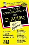 Netscape Communicator 4.5 for Dummies Quick Reference 9780764503252