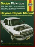 Haynes Dodge Pick-Ups 9781563923258
