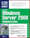 Microsoft Windows Server 2008 Administration, Seguis, Steve, 0071493263