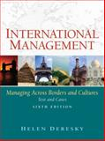International Management : Managing Across Borders and Cultures, Deresky, Helen, 0136143261