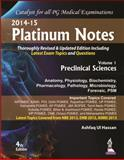 Platinum Notes : Preclinical Sciences, Hassan, Ashfaq Ul, 9351523268