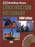 Construction Dictionary, Building News Staff, 1557013268