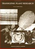 Transgenic Plant Research, Lindsey, Alan R., 9057023261
