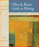 The Allyn and Bacon Guide to Writing, Ramage, John D. and Bean, John C., 0321093267