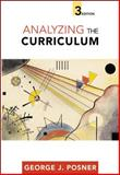Analyzing the Curriculum, Posner, George J., 0072823275