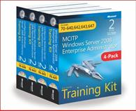 McItp Windows Server 2008 Enterprise Administrator Training Kit 4-Pack : Exams 70-640, 642, 643, 647, Holme, Dan and Ruest, Nelson, 0735663270