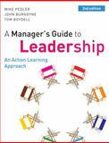 EBOOK: a Manager's Guide to Leadership : A Manager's Guide to Leadership, Pedler, Mike, 0077133277