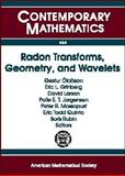 Radon Transforms, Geometry, and Wavelets, , 0821843273
