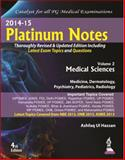 Platinum Notes : Medical Sciences, Hassan, Ashfaq Ul, 9351523276