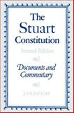 The Stuart Constitution, 1603-1688 9780521313278