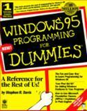 Windows 95 Programming for Dummies, Davis, Stephen R. and Davis, Randy, 1568843275