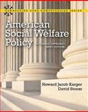 American Social Welfare Policy 1st Edition