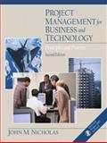 Project Management for Business and Technology 9780130183286
