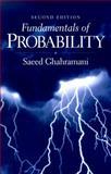 Fundamentals of Probability, Ghahramani, Saeed, 0130113298