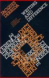 Writing and Difference, Derrida, Jacques, 0226143295