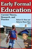 Early Formal Education 9780202363295