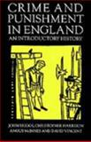 Crime and Punishment in England, 1100-1990 : An Introductory History, Briggs, John, 0312163304