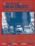 The Analysis and Design of Linear Circuits, Thomas, Roland E. and Rosa, Albert J., 0470383305