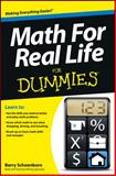 Math for Real Life for Dummies, Barry Schoenborn, 1118453301