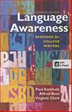 Language Awareness 11e and VideoCentral for English (Acces Card), Eschholz, Paul and Rosa, Alfred, 1457643308