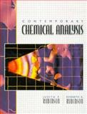Contemporary Chemical Analysis, Rubinson, Judith F. and Rubinson, Kenneth A., 0135193311