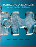 Managing Operations Across the Supply Chain, Swink, Morgan and Melnyk, Steven, 0073403318