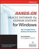 Hands-On Oracle Database 10g Express Edition for Windows, Bobrowski, Steve, 0072263318