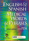 English and Spanish Medical Words and Phrases for PDA, Springhouse Publishing Company Staff, 1582553319