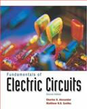 Fundamentals of Electric Circuits, Alexander, Charles K. and Sadiku, Matthew N. O., 0072463317