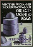 What Every Programmer Should Know about Object-Oriented Design, Page-Jones, Meilir, 0932633315