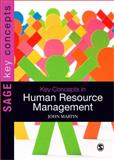 Key Concepts in Human Resource Management, Martin, John, 1847873316