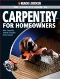 Carpentry for Homeowners, Chris Marshall, 158923331X