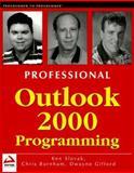 Outlook 2000 Programming, Ken Slovak and Chris Burnham, 1861003315