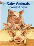 Baby Animals Coloring Book, Ruth Soffer, 0486433315