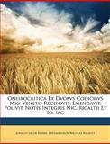Oneirocritica Ex Dvobvs Codicibvs Mss, Johann Jacob Reiske and Artemidorus, 1146703325
