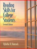 Reading Skills for College Students (with MyReadingLab Student Access Code Card), Hancock, Ophelia H., 0205723322