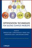 Optimization Techniques for Solving Complex Problems, , 0470293322