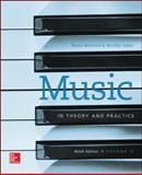 Music in Theory and Practice, Benward, Bruce and Saker, Marilyn, 007749332X