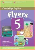 Cambridge Young Learners English Tests Flyers 5 Student's Book, Cambridge ESOL, 0521693322