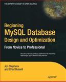 Beginning Mysql Database Design and Optimization, Russell, Chad and Stephens, Jon, 1590593324