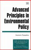 Advanced Principles in Environmental Policy 9781858983325