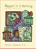 Report It in Writing, Goodman, Debbie, 0139763333