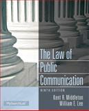 Law of Public Communication, Middleton, Kent R. and Lee, William E., 0205913334