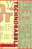 Technobabble, John A. Barry, 0262023334