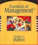 International Student Edition, Essentials of Management, DuBrin, Andrew J., 0324323336