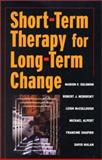Short Term Therapy for Long Term Change, Solomon, Marion F. and Solomon, Marion, 0393703339
